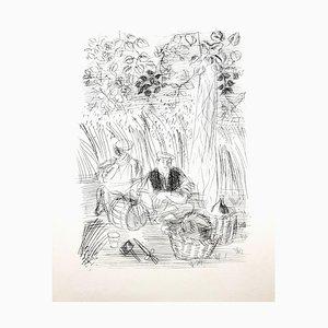 Raoul Dufy - Paysan - Original Radierung 1940