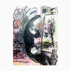 Lithographie Originale de 'Chagall Lithographe&#39