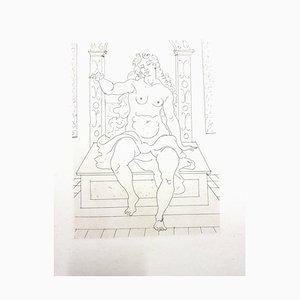 Gravure originale de André Derain - Heroides d'Ovide - 1938