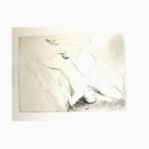 Jean Gabriel Domergue - Women's Love - Original Etching 1924