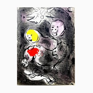 Marc Chagall - The Bible - Original Lithograph 1956