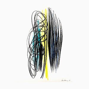 Hans Hartung - Original Lithograph 1964