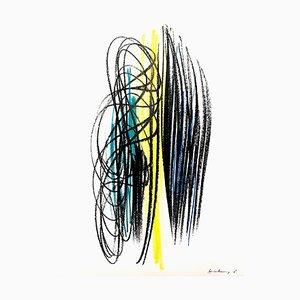 Lithographie Hans Hartung 1964