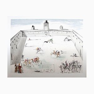 d'après Salvador Dalí - Tienta en Espana - Lithographie 1983