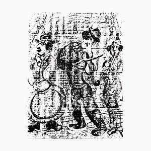 Marc Chagall - Original Lithographie 1963