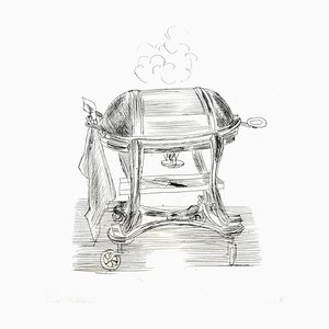 Raoul Dufy - Cuisine - Original Radierung 1940