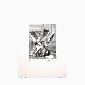 Acqua di Jacques Villon - Two Cubist Vases 1946