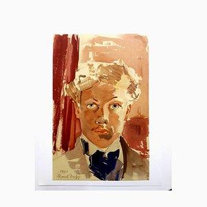 Raoul Dufy (nachher) - Autoportrait - 1965 Lithographie