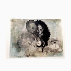 Leonor Fini - Lovers - Original Lithograph 1964