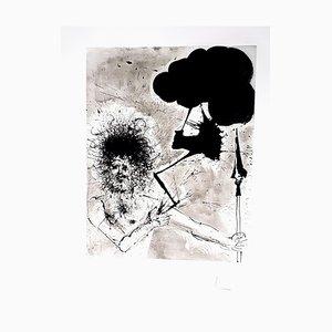 Salvador Dali - Zeus - Original Radierung 1965