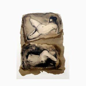 Lithographie Leonor Fini - Duo - Original 1964