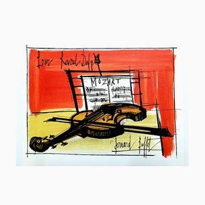 Bernard Buffet (after) - Homage to Dufy - 1965 Lithographie