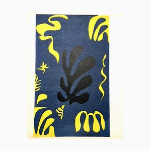 Henri Matisse (After) - Plants - Lithograph 1954