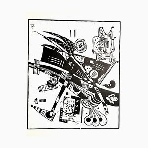 Gravure à l'Eau-Forte Wassily Kandinsky - Original 1966
