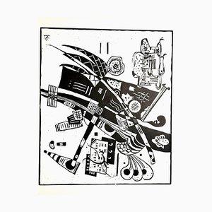 Wassily Kandinsky - Composition - Original Radierung 1966