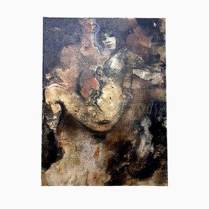 Lithographie Leonor Fini - Sitting - Original Lithograph 1964