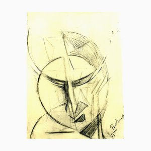 (after) Antoine Pevsner - Face of a Man - Lithographie 1959
