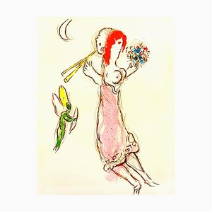 Marc Chagall - Daphnis and Chloé - Original Lithograph 1960
