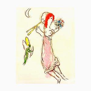 Marc Chagall - Daphnis and Chloé - Original Lithographie 1960
