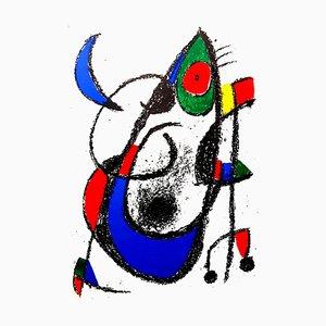 Litografia Joan Miro - Original Abstract 1975