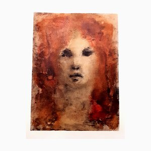 Leonor Fini - Red-Hair - Original Lithograph 1964