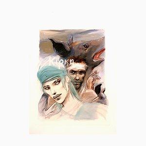 Enki Bilal - Circe - Original Lithograph 2012