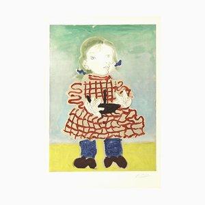(after) Pablo Picasso - Maya dans un Pinafore 1965