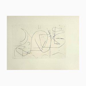 André Lanskoy - Composition - Original Radierung 1960