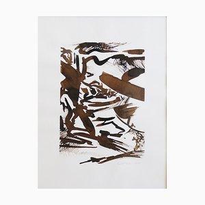Samuel Latour - Paysage en Mouvement n°2 - Original Drawing Circa 2018