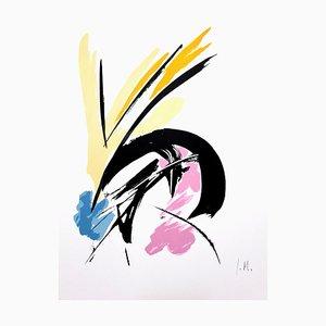 Jean Miotte - Constant Eye I - Signierte Originale Lithographie 1970er Jahre