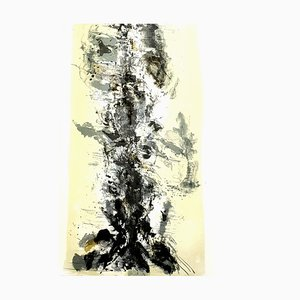 Zao Wou-ki - Original Lithograph - Abstract Composition 1962