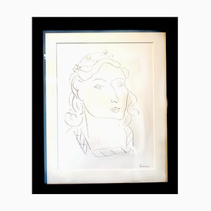 Henri Matisse (After) - Lithographie - Woman 1943