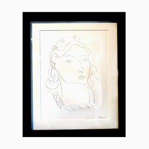 Henri Matisse (After) - Litografia - Donna 1943