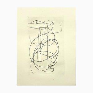 Gravure à l'Eau forte d'André Lanskoy - Composition originale
