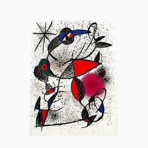 Litografia Joan Miro - Original Abstract 1972
