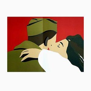Eduardo Arroyo - French Freedom - Original Lithografie 1984