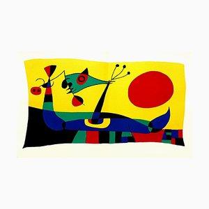 Lithographie Joan Miro - Plumes de Paon - Original Lithograph 1956
