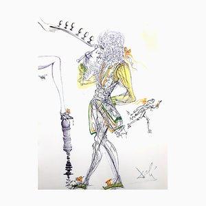 Salvador Dali - Sechs Eier - Original Radierung 1967