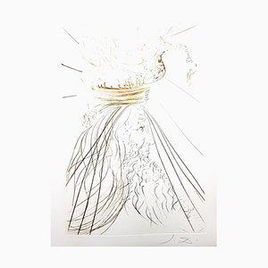 Salvador Dali - King Marc - Original Radierung 1970