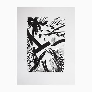 Samuel Latour - Jungle fantasmée n ° 4 - Dessin Original Circa 2018