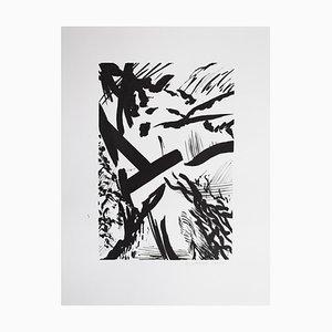 Samuel Latour - Jungle fantasmée n ° 4 - Original Zeichnung Circa 2018