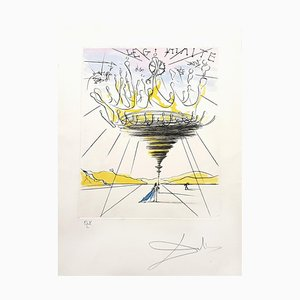 Gravure à l'Eau-Forte Salvador Dali - Legitimacy - Original 1971