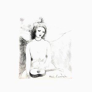 Gravure à l'Eau-Forte de Marie Laurencin, 1946
