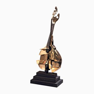 Arman - Bronze Sculpture - Portuguese Guitar