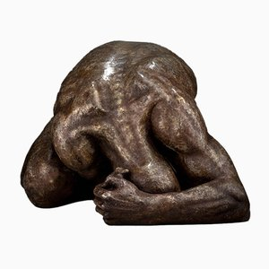 Ian Edwards - Surrender - Original Signed Bronze Sculpure 2017