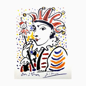 After Pablo Picasso - Carnaval - Lithograph 1958