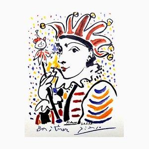 Après Pablo Picasso - Carnaval - Lithographie 1958