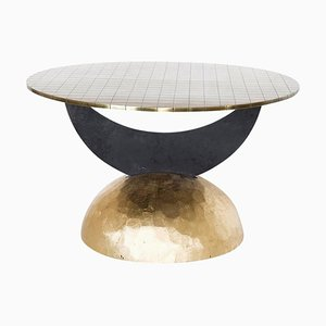 Half Moon Brass Table I, Rooms