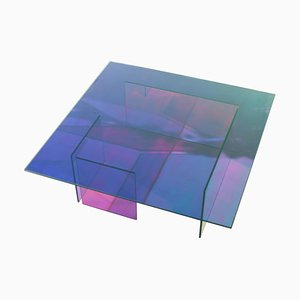 Table Kinetic Colors en Verre par Brajak Vitberg