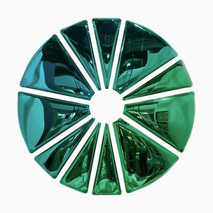 Original Monumental Decorative Wall Mirror, Zieta